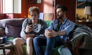 Charlie (Tom Riley) and Joel (Chris Geere) in Ill Behaviour