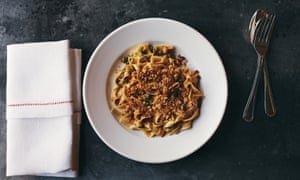 Jolene's 'fresh, lemon-enlivened tagliatelle with capers and oregano'.