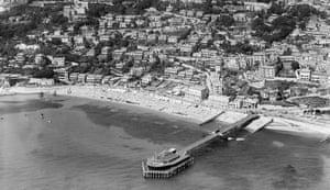The Royal Victoria pier, Ventnor, Isle of Wight, 1932
