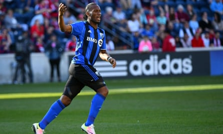 Didier Drogba celebrates his goal against Chicago last week.