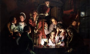 An Experiment on a Bird in the Air Pump by Joseph Wright of Derby, 1768.