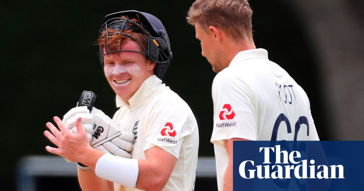 Englands Joe Root praises Ollie Popes maturity after second Test stand