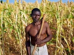 Farmers at the Muonde Trust in Mazvihwa, Zimbabwe