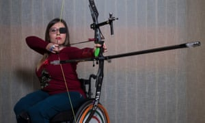 Kimberly Scudera, a 20-year-old from Gela with spina bifida.