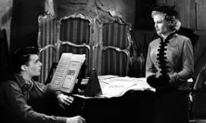 Honor Blackman and Dirk Bogarde in Quartet, 1948