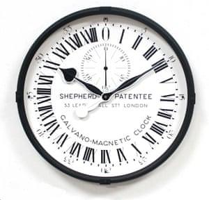 Shepherd clock replica