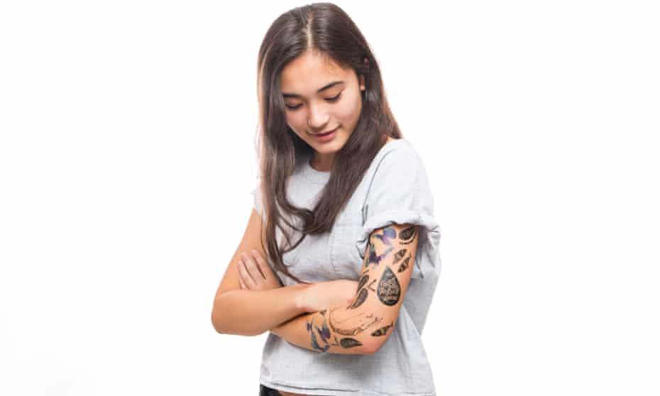 Tattly fake tattoo parlour in Brooklyn, New York