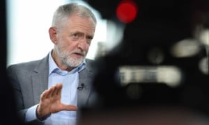 Labour leader Jeremy Corbyn on the BBC's Andrew Marr Show, 19 May