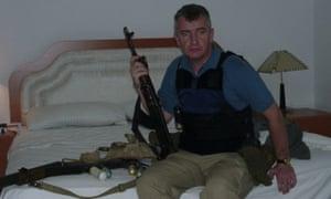 Paul Hopkins in Somalia.