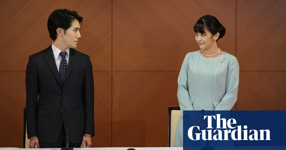 Japan's Princess Mako leaves royal family to marry college sweetheart – video
