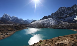 Glaciers are melting fast in the Himalayas