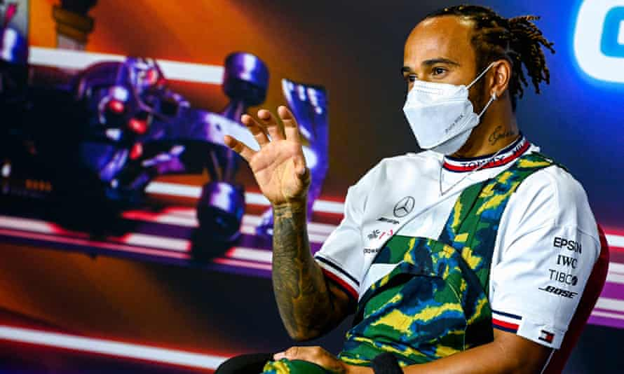 Lewis Hamilton goes into this weekend's Spanish Grand Prix leading the drivers' championship.