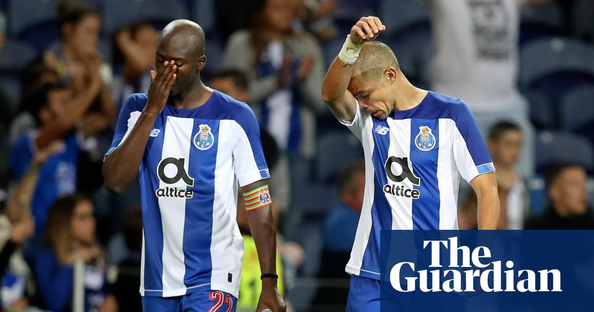 Porto Dumped Out Ajax Edge Through On Night Of Champions League Drama Champions League The Guardian