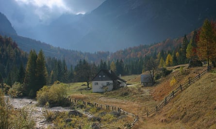 Pri Plajerju farm Slovenia, which offers hay bed accommodation and easy access to hiking.