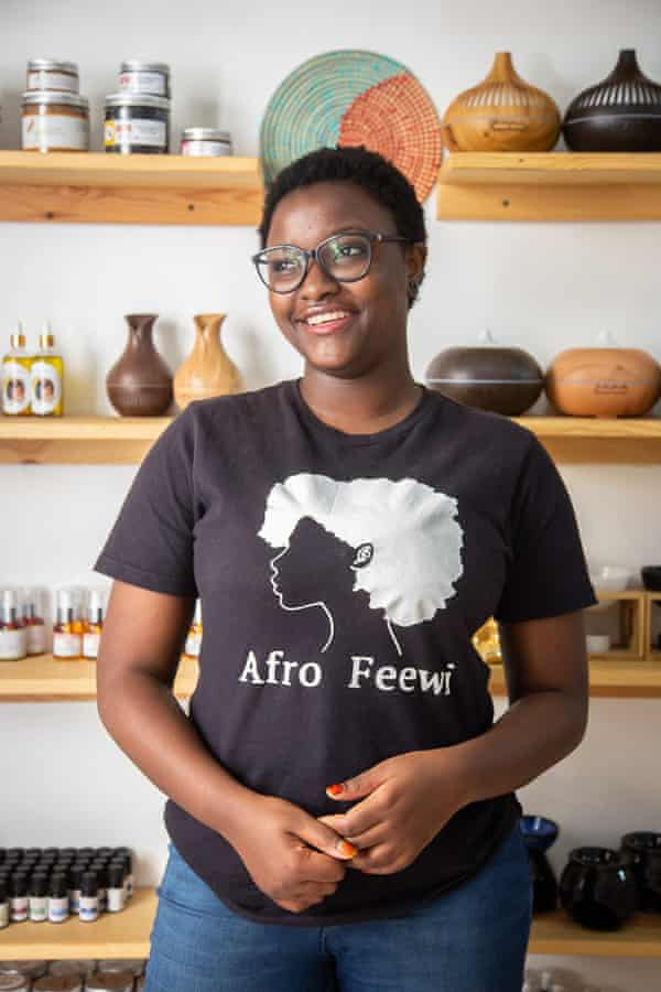 Khadidiatou Ba, known as Jatouna, owner of Afro Feewi