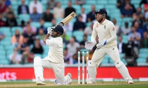 Rishabh Pant hits his maiden test century