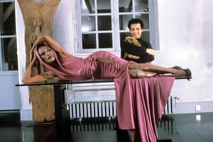 Alaia was crucial to the career of many stars - including Grace Jones. Her hooded pink dress, worn for A View to a Kill in 1985, has become a classic, most notably replicated for Kylie Minogue in the video for Can't Get You Out of My Head in 2001.