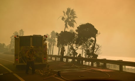 Why are ferocious wildfires plaguing southern California?