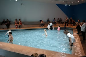 Swimming lessons ... the Australian national pavilion at Venice biennale 2016.
