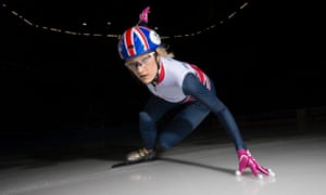 Elise Christie, the world champion short-track speed-skater, has bounced back after the traumas of Sochi