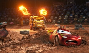 Lost its spark … Cars 3.