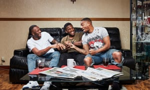 Tremaine, Twaine and Tristan in Gogglebox