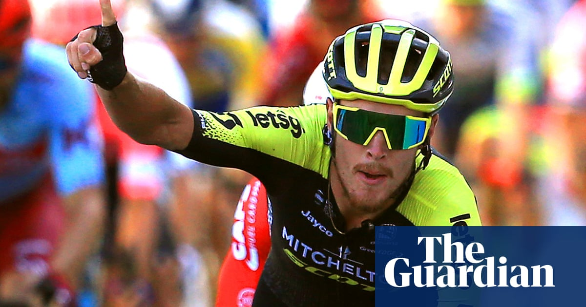 Matteo Trentin claims stage two victory to take lead in Tour of Britain