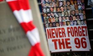 Tributes at Hillsborough