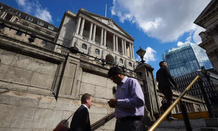 A view of the Bank of England
