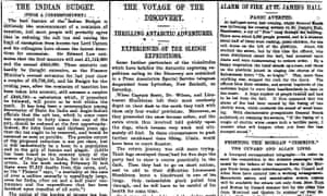 Manchester Guardian, 30 March 1903.
