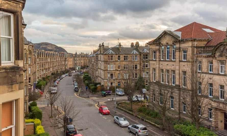 A three-bedroom flat in Edinburgh