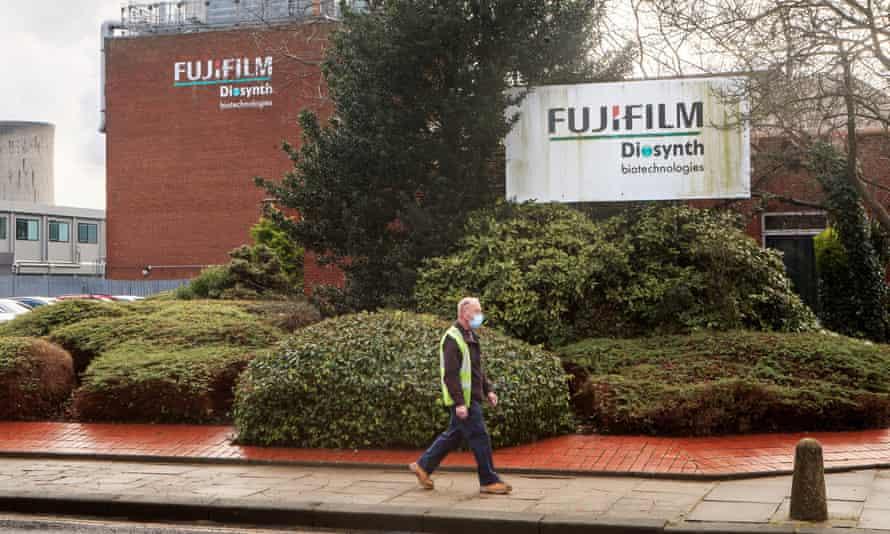 The Fujifilm Diosynth facility in Billingham, Stockton-on-Tees.