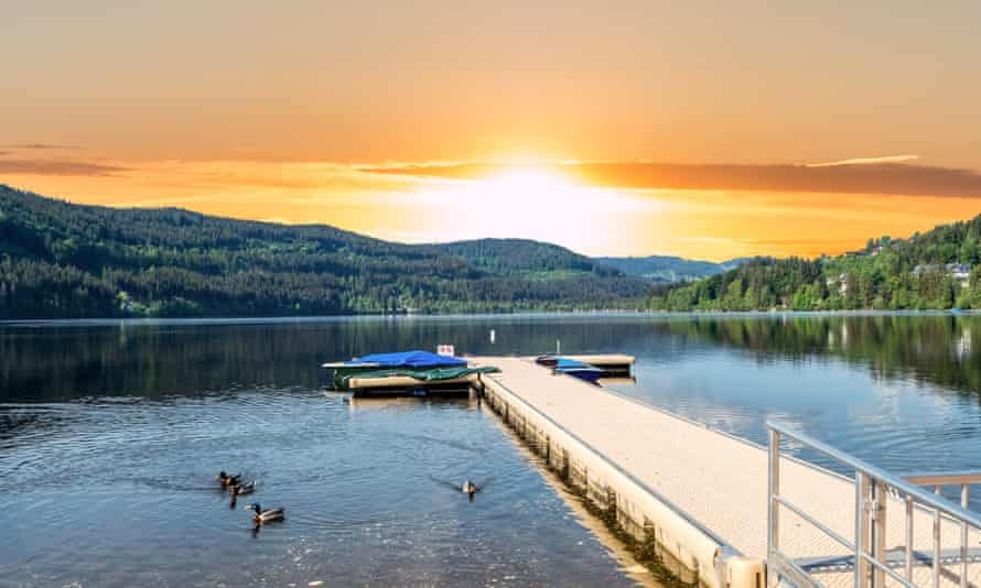 Titisee in Sunset the Upper Black Forest