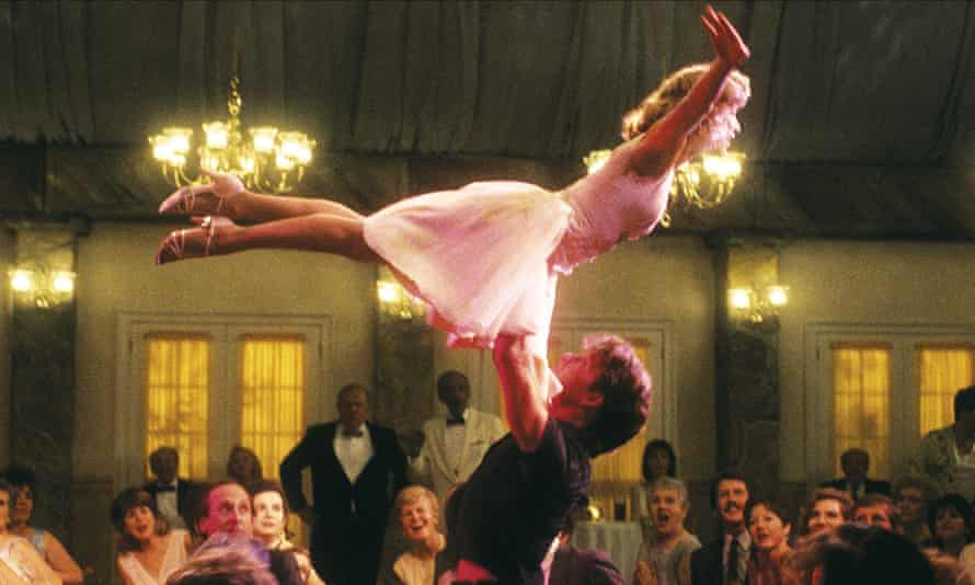 That lift ... Patrick Swayze and Jennifer Grey in Dirty Dancing.