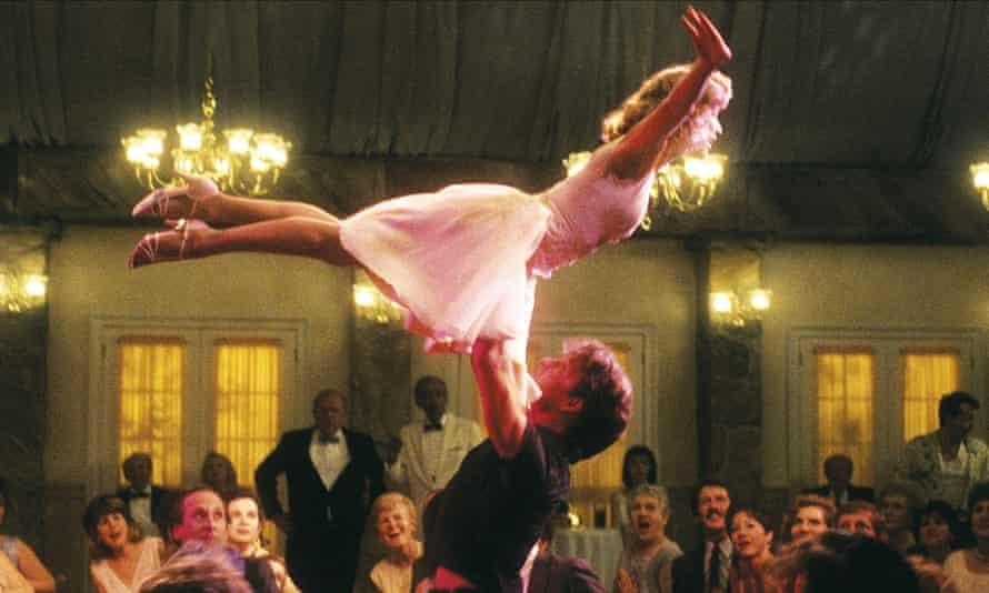 Patrick Swayze and Jennifer Grey in the 1987 film Dirty Dancing