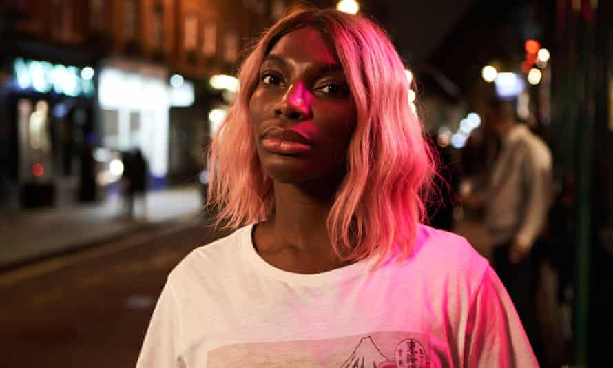 Michaela Coel in I May Destroy You from 2020.