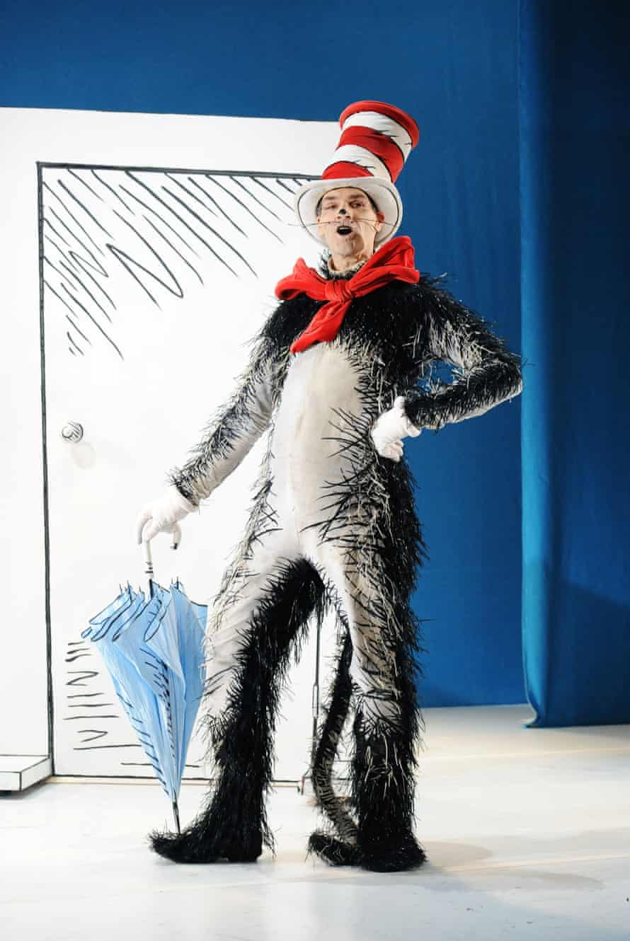 Angus Wright in The Cat in the Hat, designed by Vicki Mortimer.