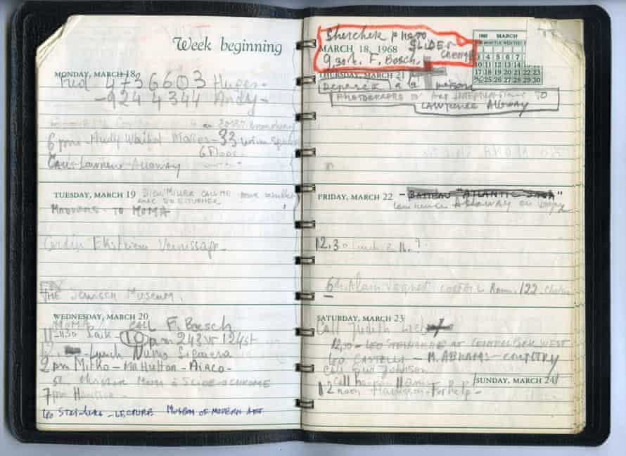 18 March 6pm, Warhol movies.