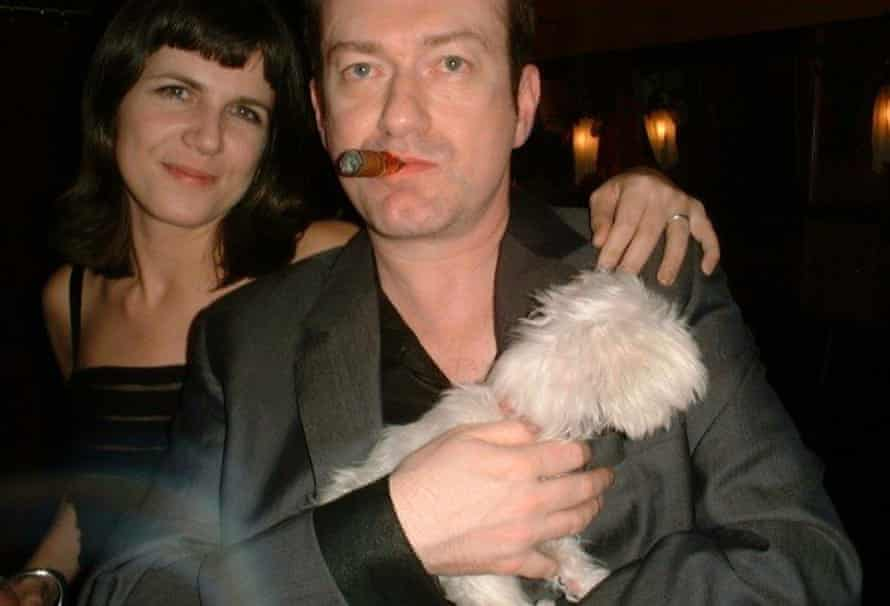 Catherine Mayer and her husband.