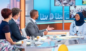 Khadijah Mellah appeared on Good Morning Britain to talk about her achievement at Glorious Goodwood.