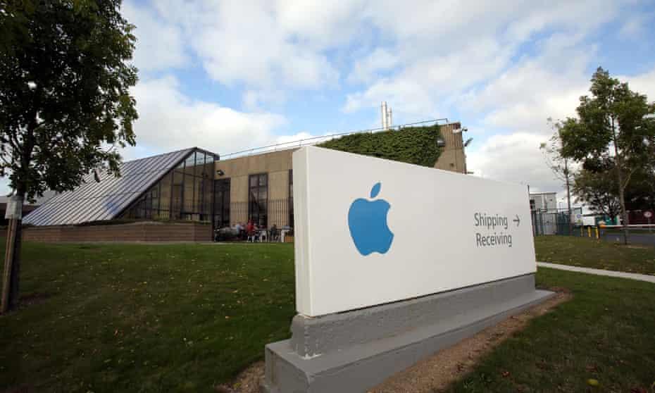 Apple building in Cork
