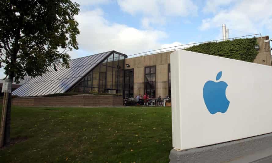 The Apple campus in Cork, Ireland