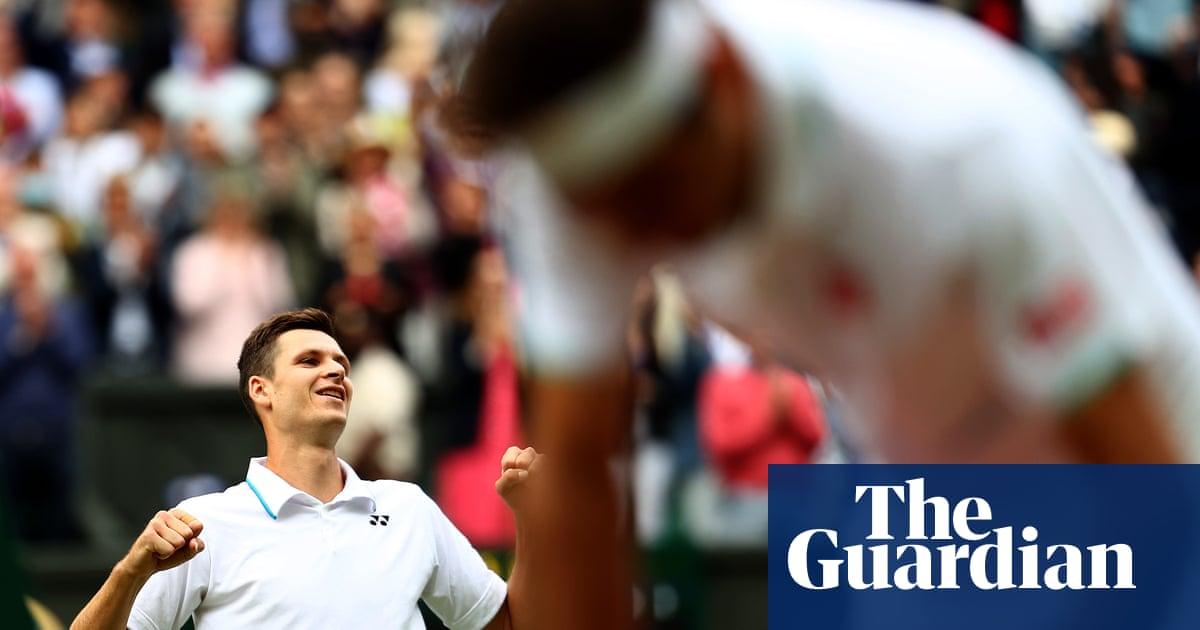 Hubert Hurkacz humbles Roger Federer to make Wimbledon semi-finals