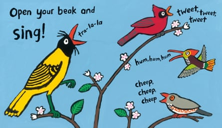 An illustration from Lucy Cousins' A Busy Day for Birds
