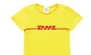 scam or subversion how a dhl t shirt became this year s must have fashion the guardian. Black Bedroom Furniture Sets. Home Design Ideas