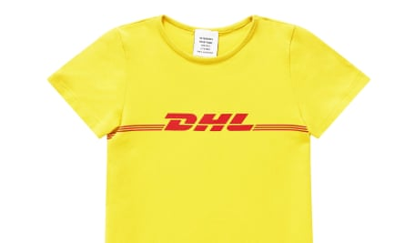 Vetements' £185 DHL T-shirt, the biggest fashion story of 2016 so far.