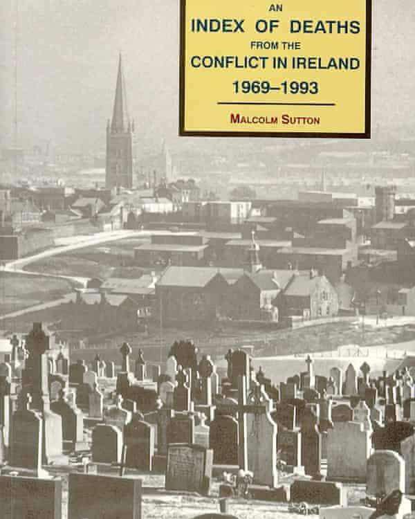 The cover of Malcolm Sutton's book.