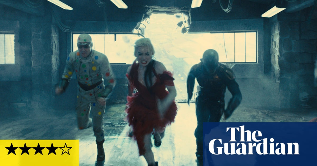 The Suicide Squad review – a slick meeting of sick minds