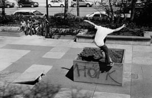 Bump to planter nosegrind, Joey O'Brien.