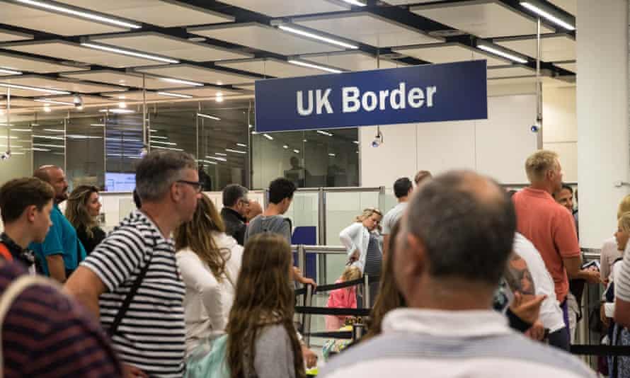 Gatwick airport UK, 2019